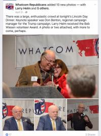 whatcom republicans keynote speakers lincoln day dinner