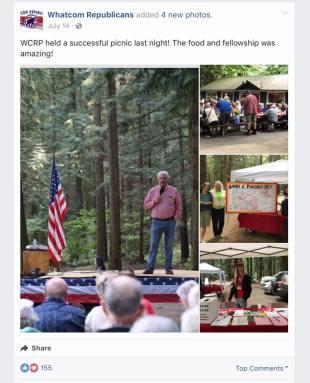 whatcom republicans picnic dan robbins speaking