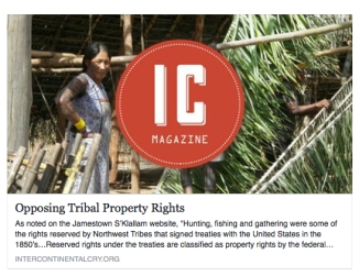 opposing tribal property rights