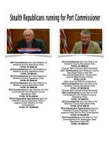 stealth port commisioners