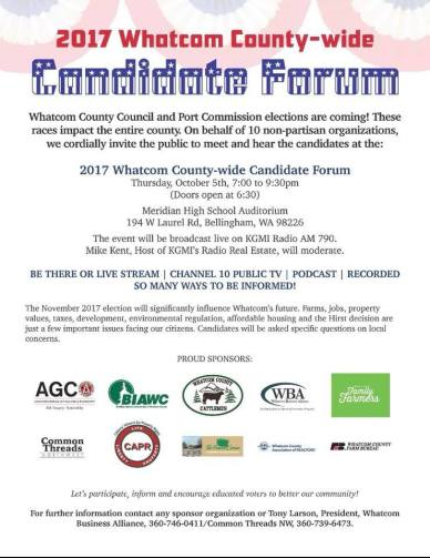 wba ctnw candidate forum poster