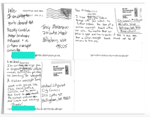 Click on any postcard to enlarge and page through other enlarged images