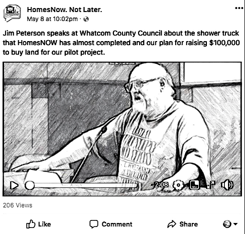 jim at council sketch