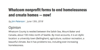 homesnow real change op ed blurb