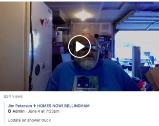 june 4 update on shower truck video