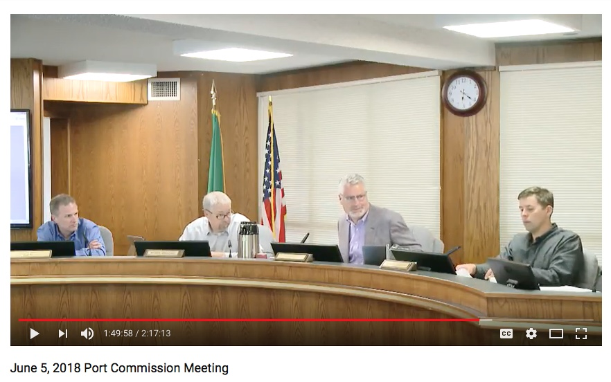 june 5 2018 port commission meeting