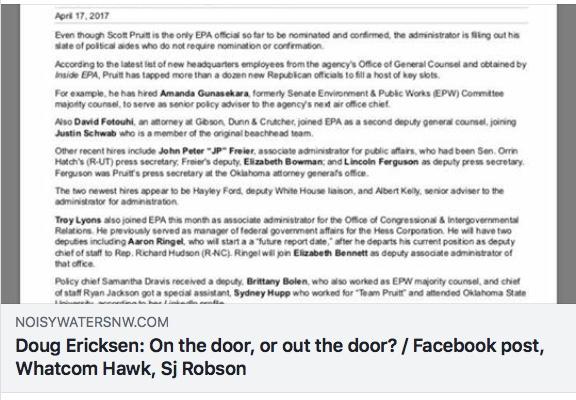 ericksen on the door