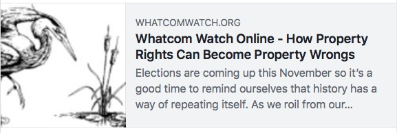 whatcom watch property wrongs