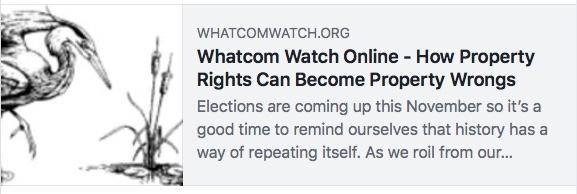 whatcom watch property wrongs