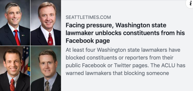seattle times ericksen unblocks constituents Screen Shot 2018-11-02 at 9.40.35 PM